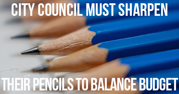 Sharpen Pencil To Balance 2020-2021 Budget
