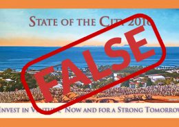 False state of the city for Ventura 2016