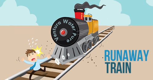 VenturaWaterPure is a runaway train