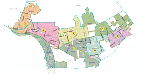 City Council Candidates will serve by district after the 2010s