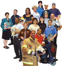 employees largest budget item in Ventura