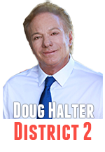 Doug Halter voted against an appointee replacement in District 4