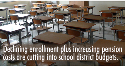 Declining enrollment doesn't warrant schools and communities first initiative