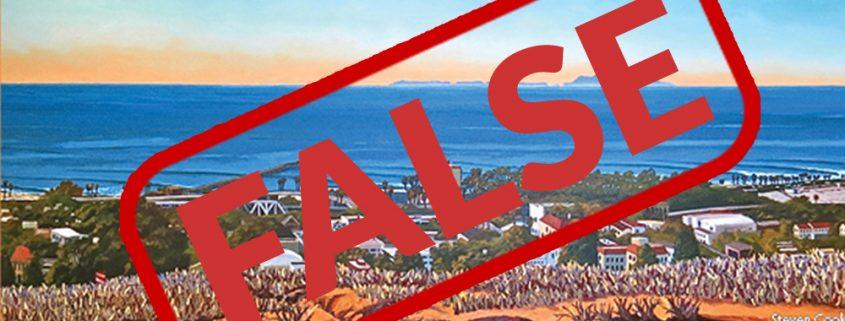 False state of the city for Ventura 2016