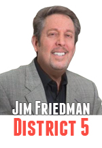 Jim Friedman received contributions from the Ventura Fire Department