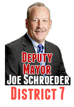 Joe Schroeder wasn't on the Council when they voted for step and merit increases