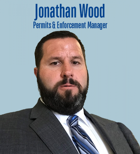 Jonathan Wood leads the Permit Services Department