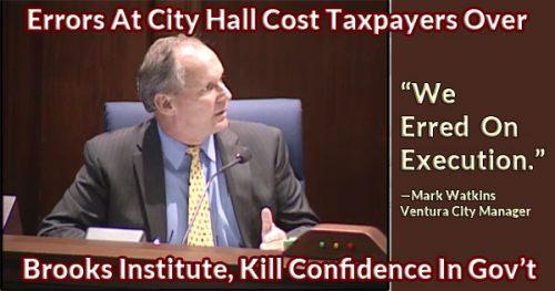 Ventura lacks accountability in city government
