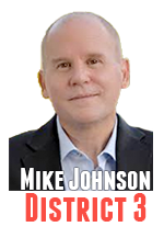 Mike Johnson voted for an appointee replacement in District 4