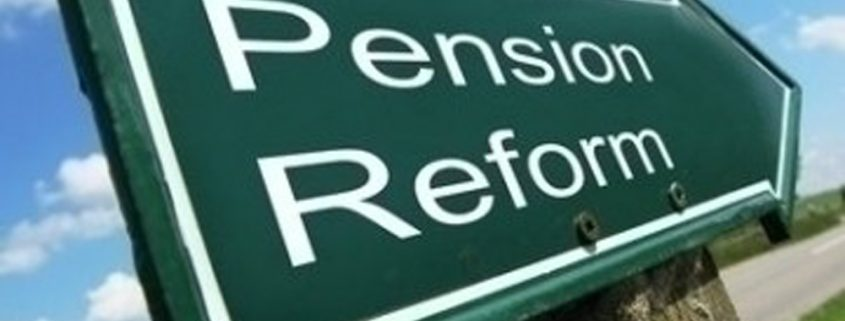 Pension reform needed