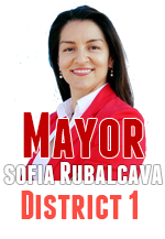 Sofia Rubalcava voted for an appointee replacement in District 4